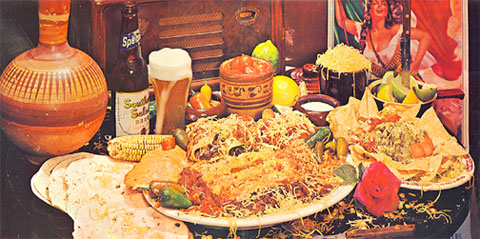 The glorious gatefold sleeve of ZZ Top's Tres Hombres.